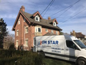 another window replacement project by ON Star Windows & Doors in suburban Ontario